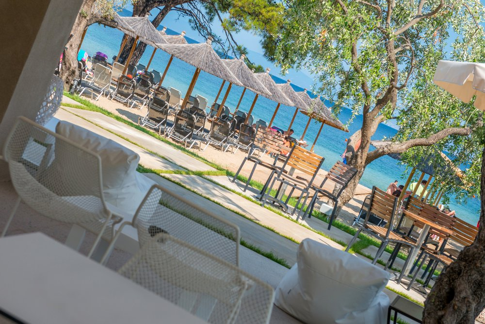 Beach bar the boutique louloudis hotel spa thassos for Beach boutique hotel